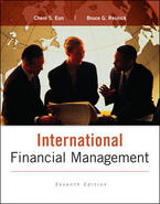 International Financial Management, 7th Edition | 9780077861605 ISBN-13:  9780077861605  See more Author(s): Eun, Cheol; Resnick, Bruce