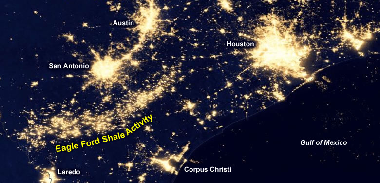 Collection eagle-ford-shale-at-night